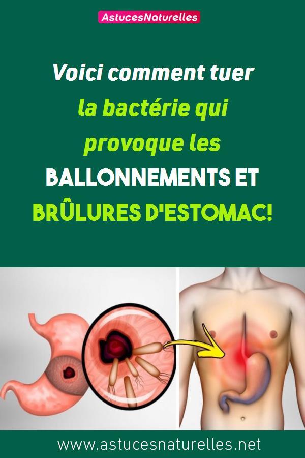 Voici comment tuer la bactérie qui provoque les ballonnements et brûlures d'estomac!