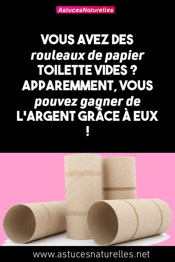 Vous avez des rouleaux de papier toilette vides ? Apparemment, vous pouvez gagner de l'argent grâce à eux !