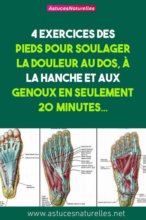 4 exercices des pieds pour soulager la douleur au dos, à la hanche et aux genoux en seulement 20 minutes…