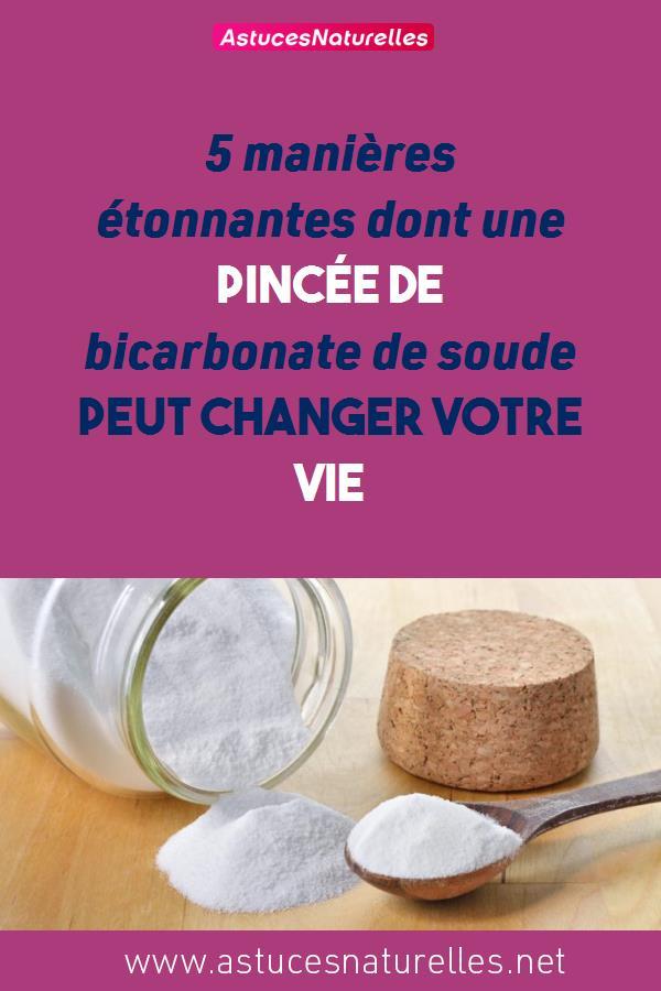 5 manières étonnantes dont une pincée de bicarbonate de soude peut changer votre vie
