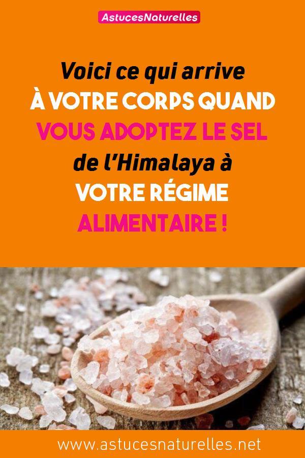 Voici ce qui arrive à votre corps quand vous adoptez le sel de l'Himalaya à votre régime alimentaire !