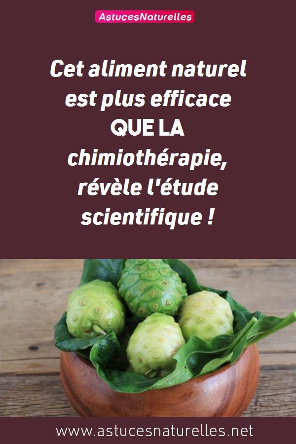 Cet aliment naturel est plus efficace que la chimiothérapie, révèle l'étude scientifique !