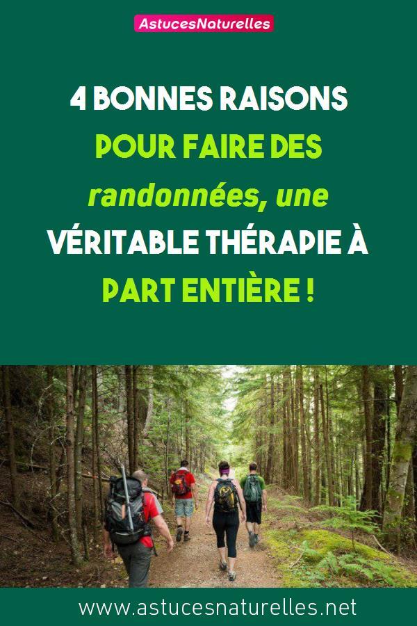 4 bonnes raisons pour faire des randonnées, une véritable thérapie à part entière !