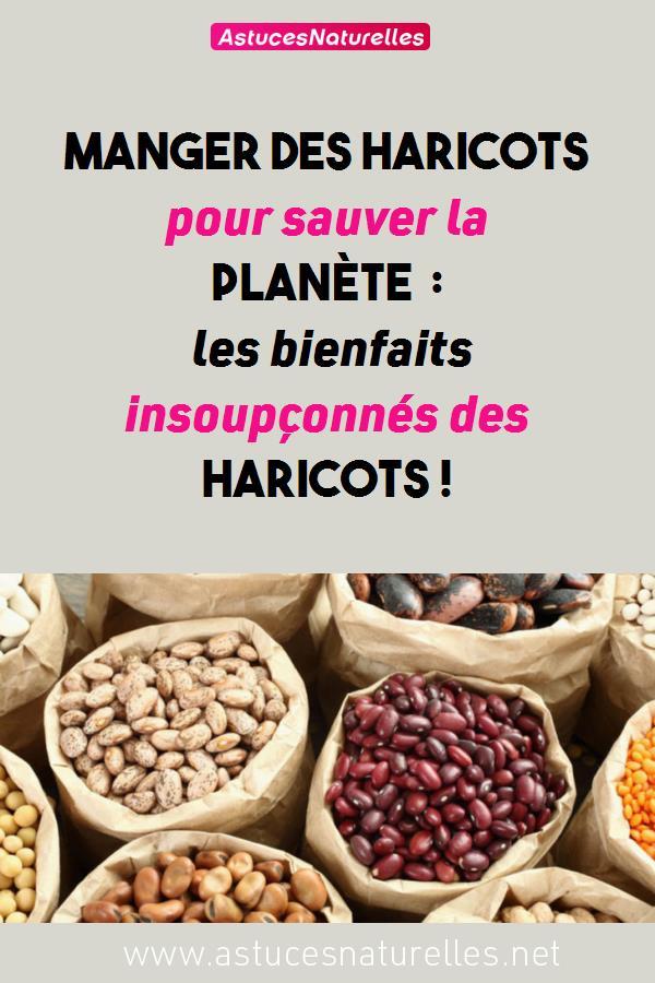 Manger des haricots pour sauver la planète : les bienfaits insoupçonnés des HARICOTS !