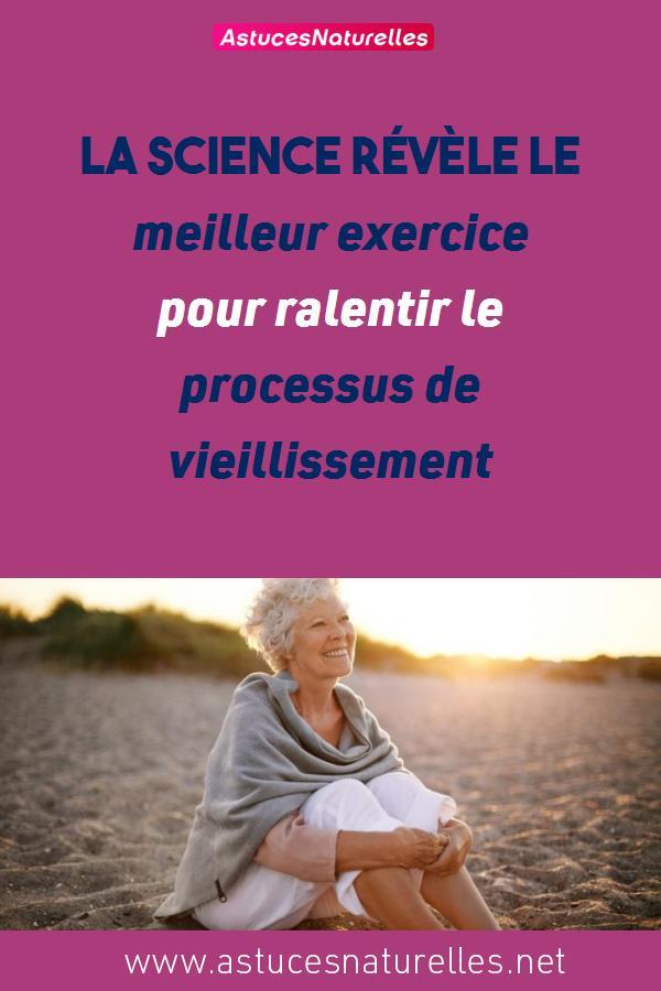 La science révèle le meilleur exercice pour ralentir le processus de vieillissement