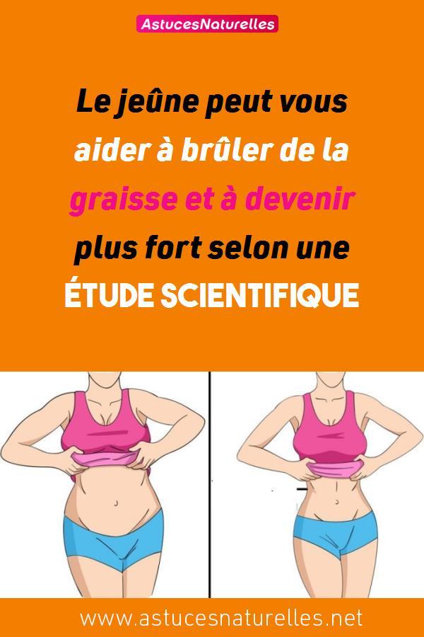 Le jeûne peut vous aider à brûler de la graisse et à devenir plus fort selon une étude scientifique