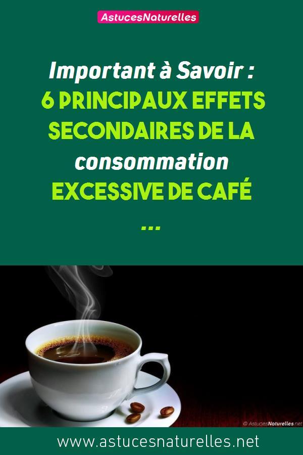 Important à Savoir : 6 principaux effets secondaires de la consommation excessive de café …