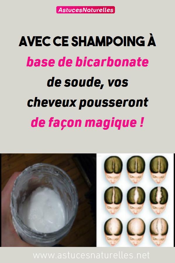 Avec ce shampoing à base de bicarbonate de soude, vos cheveux pousseront de façon magique !