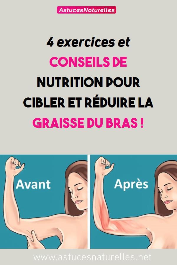 4 exercices et conseils de nutrition pour cibler et réduire la graisse du bras !
