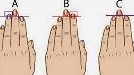 Vos mains et la longueur de vos doigts en disent long sur votre caractère