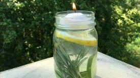 Mettez ce répulsif pour insecte en bocal en extérieur et dites au revoir aux moustiques pendant tout l'été