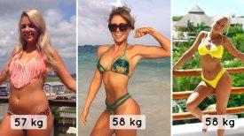23 photos avant/après qui prouvent que le poids n'est qu'un chiffre