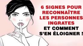 6 signes qu'une personne est ingrate et comment faire pour s'en éloigner