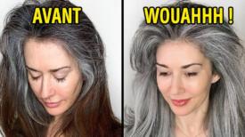 Le célèbre coiffeur Jack Martin montre aux femmes la beauté des cheveux gris afin de les aider à arrêter de se les teindre