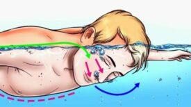 Exercice de respiration pour tenir sous l'eau