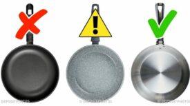 Ustensiles de cuisine: les plus toxiques et les plus sûrs