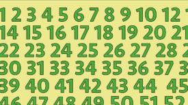 Pouvez-vous trouver les erreurs dans cette suite de chiffres? – C'était assez difficile