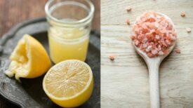 Une recette au citron et au sel pour stopper immédiatement la migraine