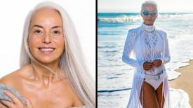 """Cette femme de 63 ans est considérée comme """"la grand-mère la plus belle du monde"""""""