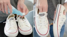 10 astuces géniales pour nettoyer vos chaussures blanches