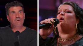 Simon a exprimé son désaccord en découvrant l'idole de la femme – mais quand elle commence à chanter, il doit ravaler ses mots
