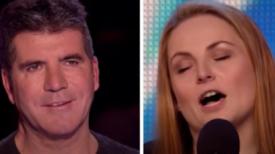 Un fils a demandé à sa mère de s'inscrire pour épater Simon Cowell: quand elle commence  à chanter, ils n'en reviennent pas