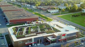 Une épicerie canadienne cultive ses propres légumes bio sur les toits